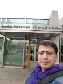 Scottish Parliament Entrance